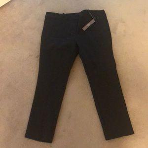 Size 14 petite black dress pants from Loft.